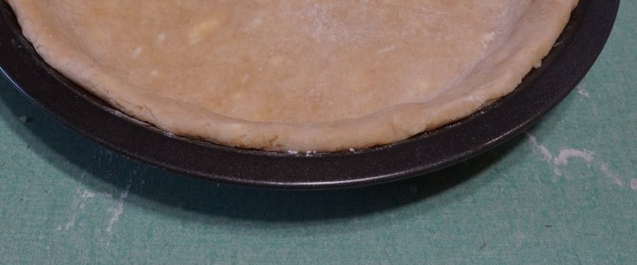 The edge of the crust should look like this when you're done.