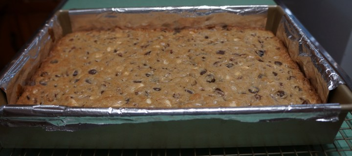 Baked until top just starts to brown.