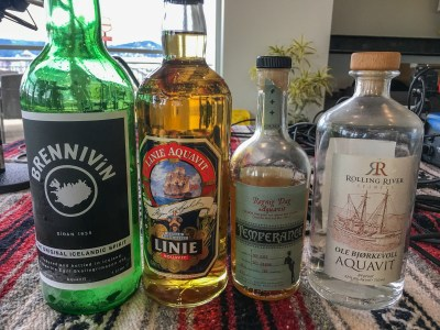 Aquavit 101 and Aquavit Week 2016 Preview with Jacob Grier -- Episode 8 of the Great Food Great Stories Podcast with Steven Shomler