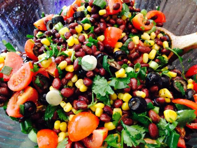 Quick and Easy Bean Salsa