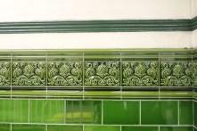 Pretty tiles in the Underground