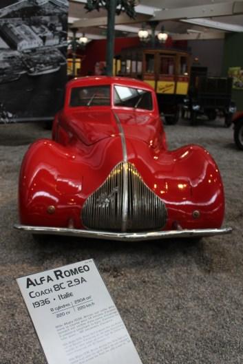 This vintage car still looks futuristic.