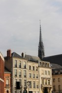 The back spire of the cathedral