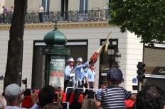 The firemen's flag