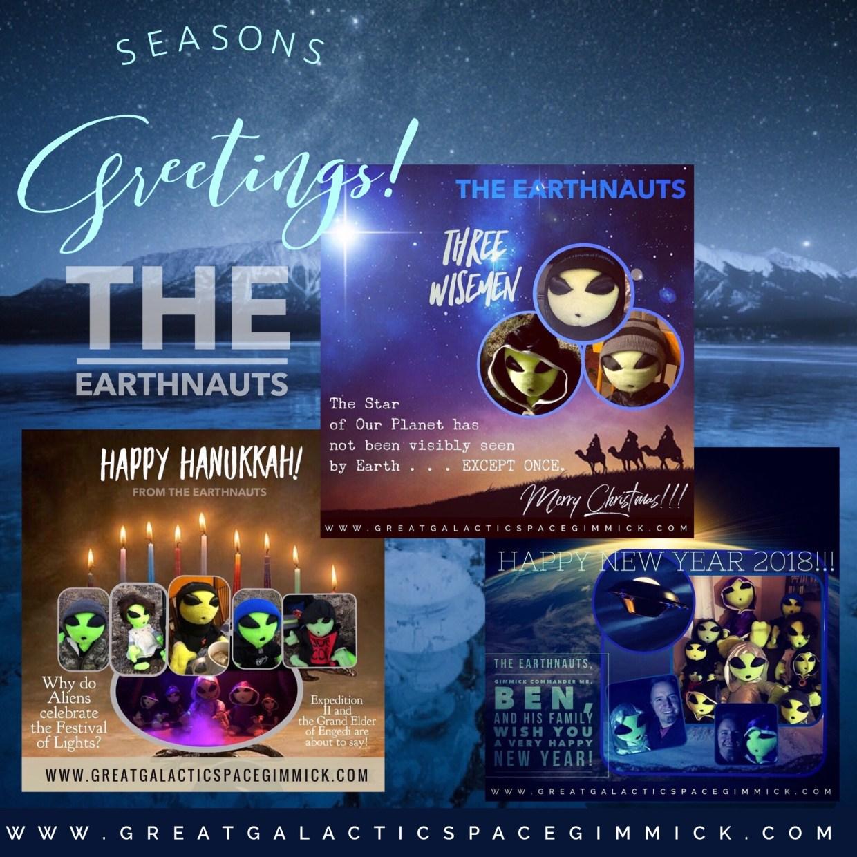 The Earthnauts Log 037 Seasons Greetings The Great Galactic