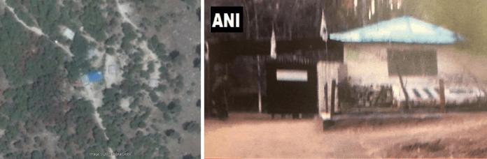 Balakot Airstrike Ground Satellite Imagery Comparisson