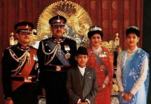 Nepalese Royal Family Massacre - The King and Queen of Nepal were shot dead in 2001 after the heir to the throne went on the rampage with a gun before turning it on himself.