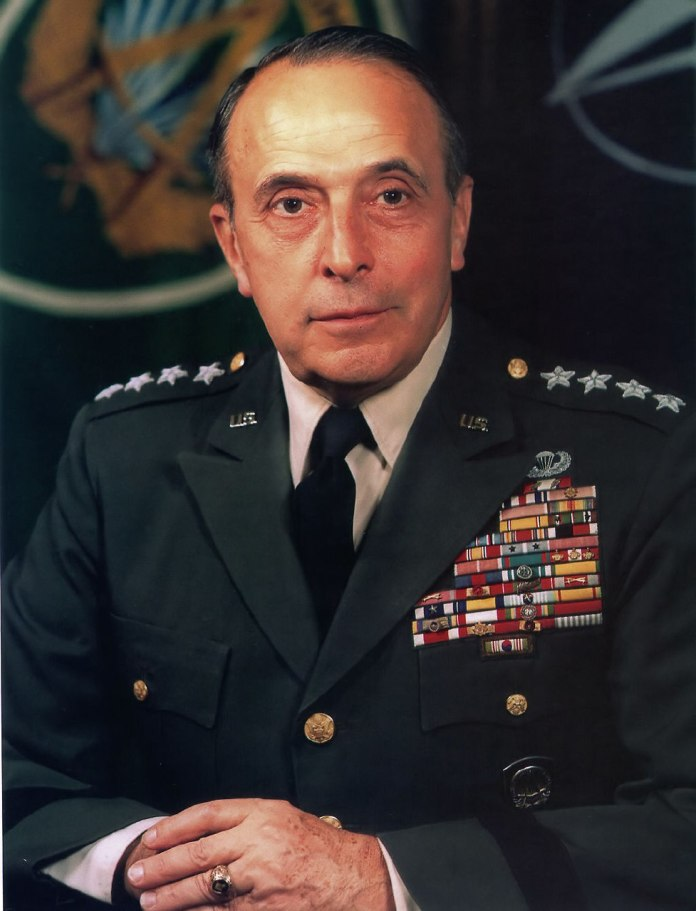 Lyman L. Lemnitzer, who was in charge as the Chairman of the Joint Chiefs of Staff