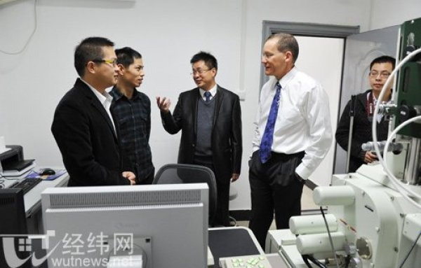 Dr. Charles Lieber in Wuhan in 2011