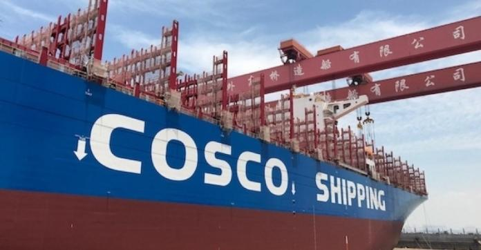 COSCO Shipping - A Front For Chinese Intelligence