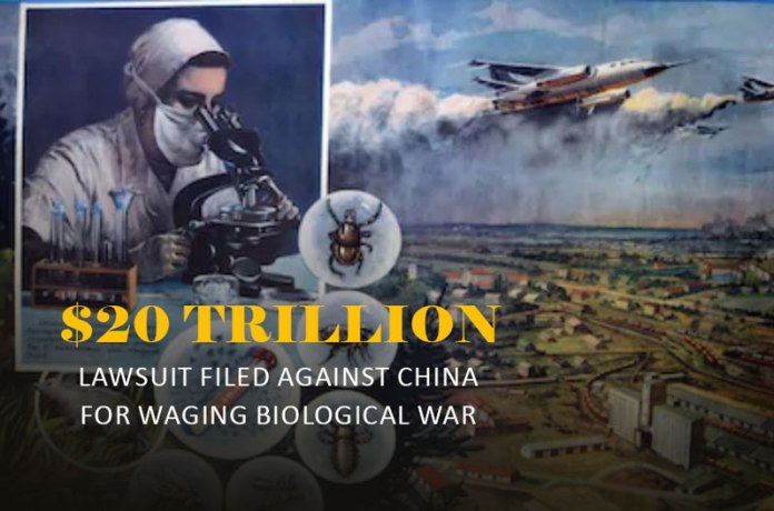 $20 Trillion Lawsuit Against China For Waging Biological War
