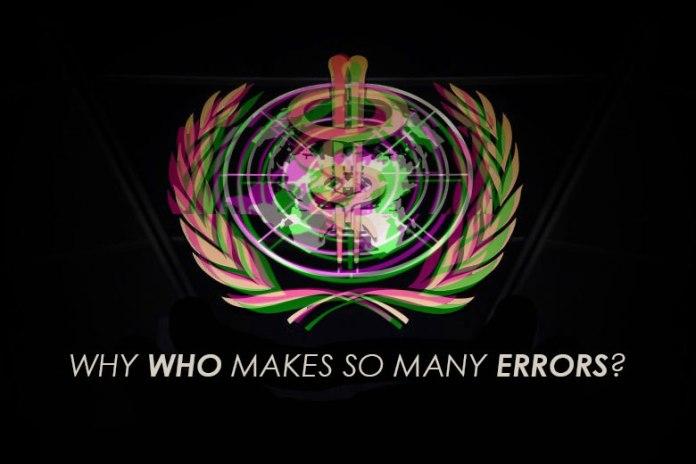 WHO's Never Ending List Of Errors