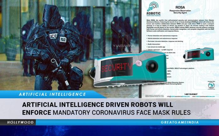 AI Robots Face Mask