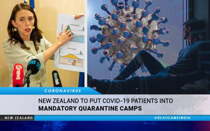 New Zealand To Put COVID-19 Patients Into Mandatory Quarantine Camps
