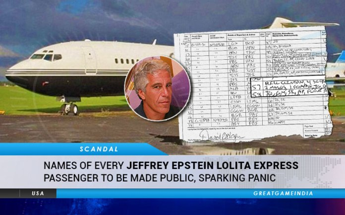 Names Of Every Jeffrey Epstein Lolita Express Passenger To Be Made Public