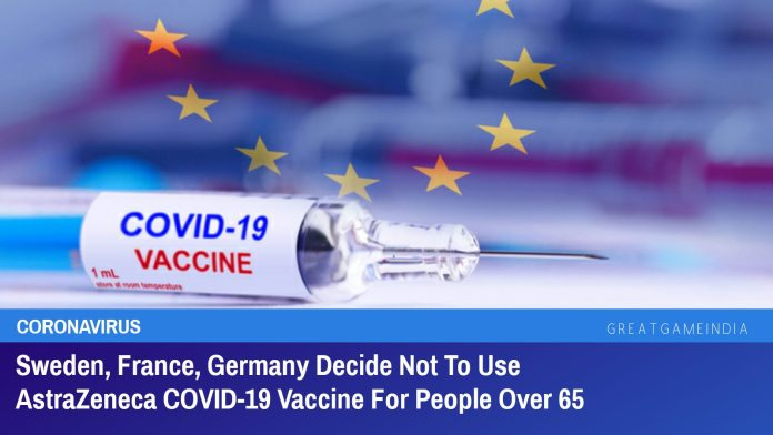 Sweden, France, Germany Decide Not To Use AstraZeneca COVID-19 Vaccine For People Over 65