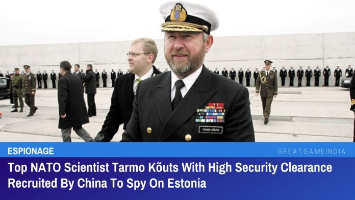 Top NATO Scientist Tarmo Kõuts With High Security Clearance Recruited By China To Spy On Estonia