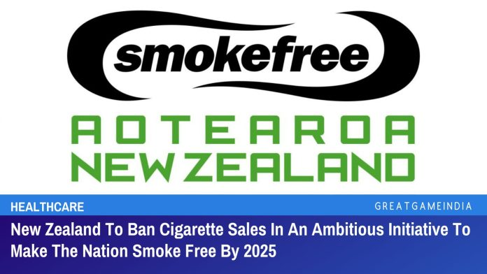 New Zealand To Ban Cigarette Sales In An Ambitious Initiative To Make The Nation Smoke Free By 2025