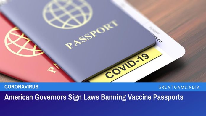 American Governors Sign Laws Banning Vaccine Passports