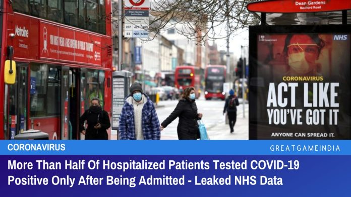 More Than Half Of Hospitalized Patients Tested COVID-19 Positive Only After Being Admitted - Leaked NHS Data