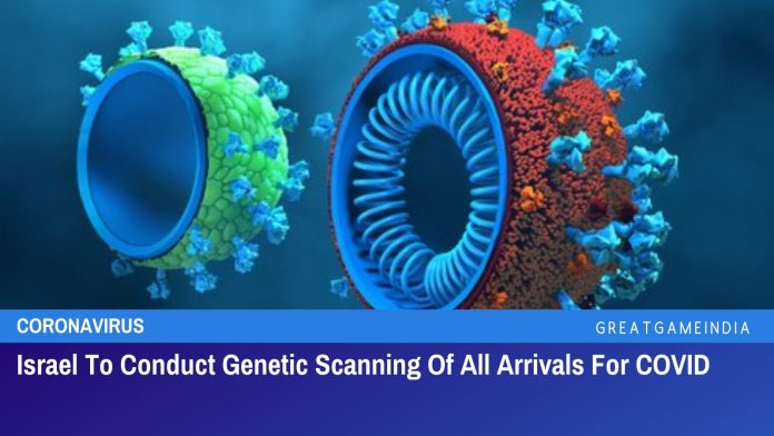 Israel To Conduct Genetic Scanning Of All Arrivals For COVID