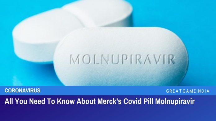 Merck covid pill molnupiravir