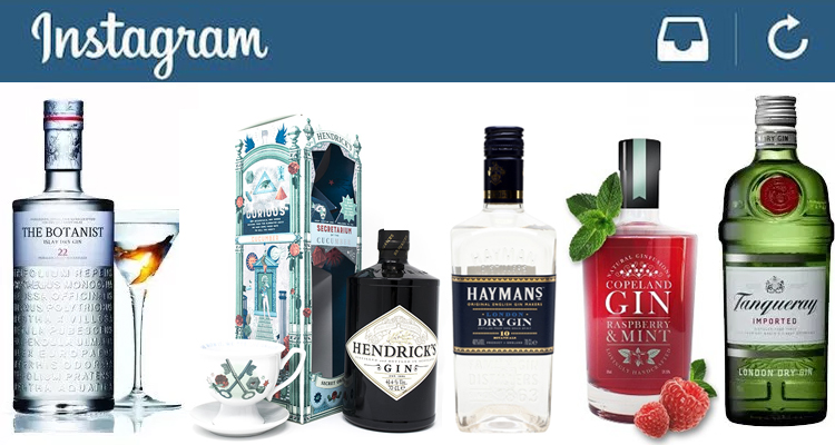 Gin Brands on Instagram