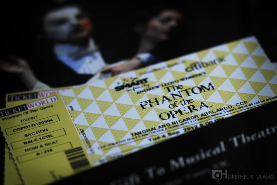 August: the touring company of Phantom of the Opera had a two-month long performance in Manila.