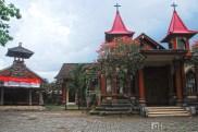 I found this catholic church as I went around.