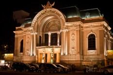 Saigon opera house.