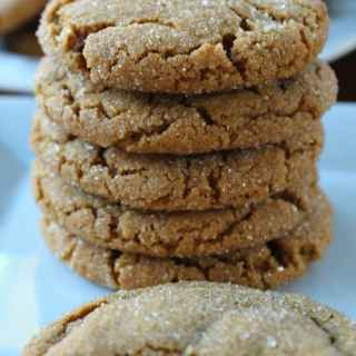 Soft Chewy Molasses Cookies
