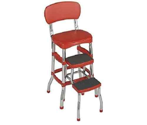 Cosco Aluminum Retro Step Stool