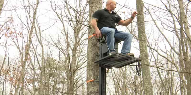 What is the Best Tree Stand for a Big Guy