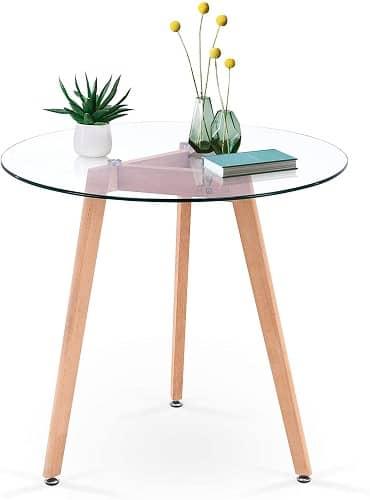 Ivinta Modern Small Coffee Table