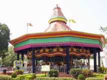 The carousel ride in Nicco park