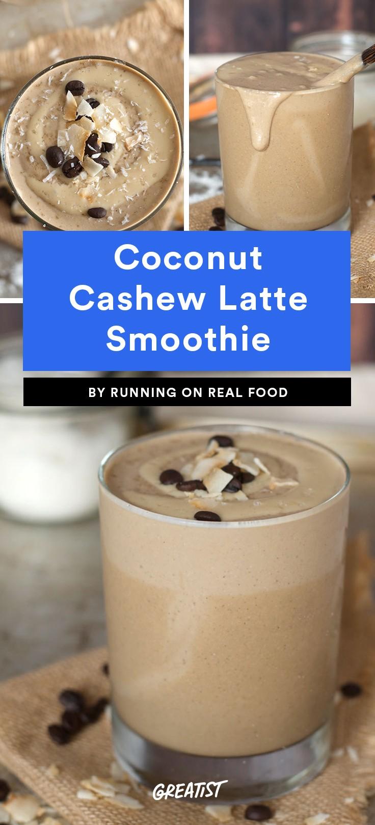 Coconut Cashew Latte Smoothie