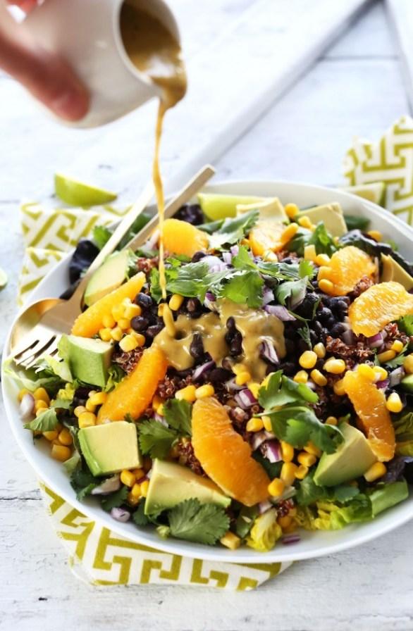Detox Recipes: Mexican Quinoa and Avocado Salad