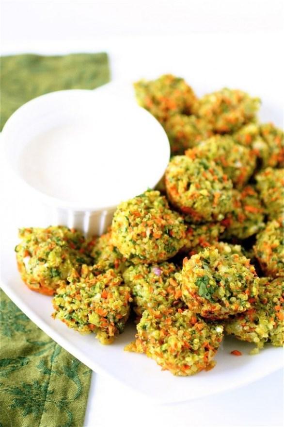 Detox Recipes: Vegetable Quinoa Bites