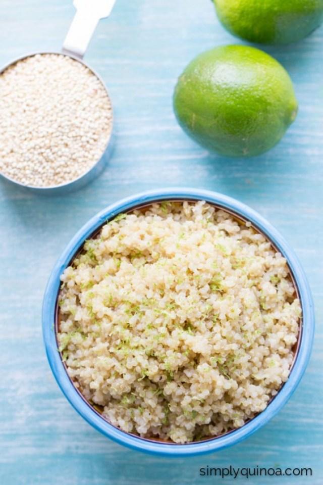 coconut lime quinoa