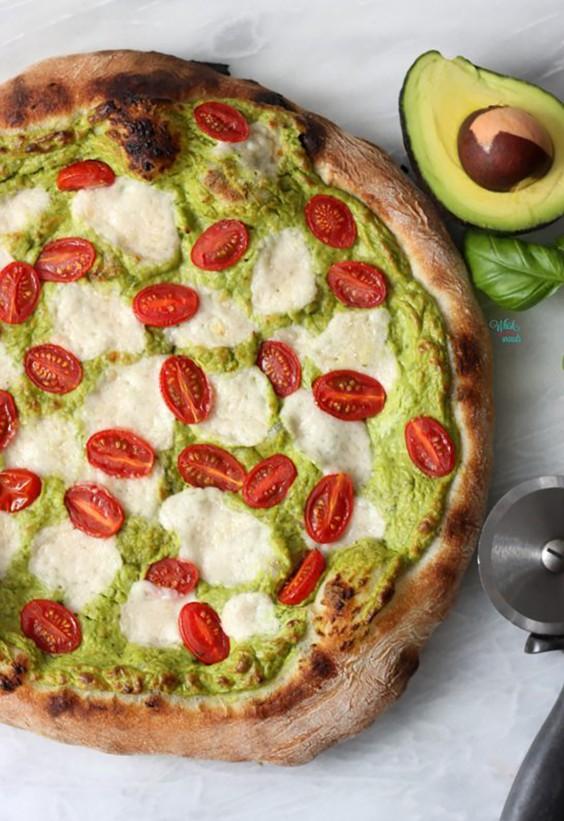 Avocado Pesto Pizza Recipe