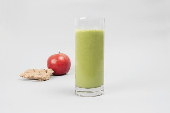 Apple Spinach Smoothie