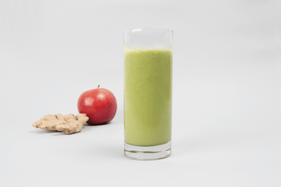 Apple Spinach Smoothie