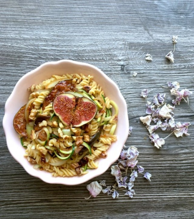 12. Caramelized Fig Walnut Pasta