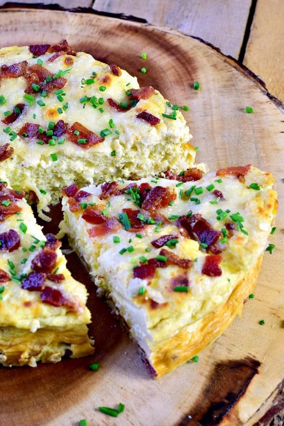Instant Pot Crustless Quiche Lorraine Recipe