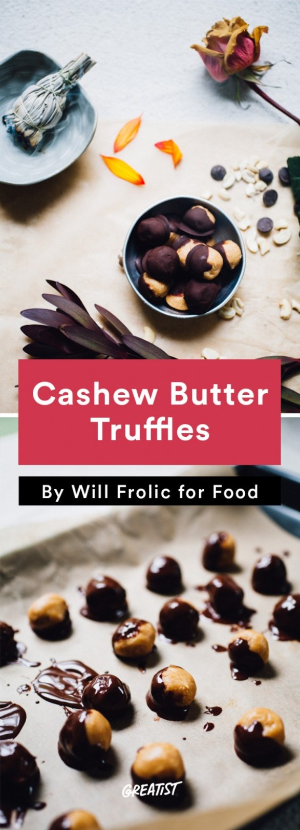 will frolic for food: Cashew Butter Truffles