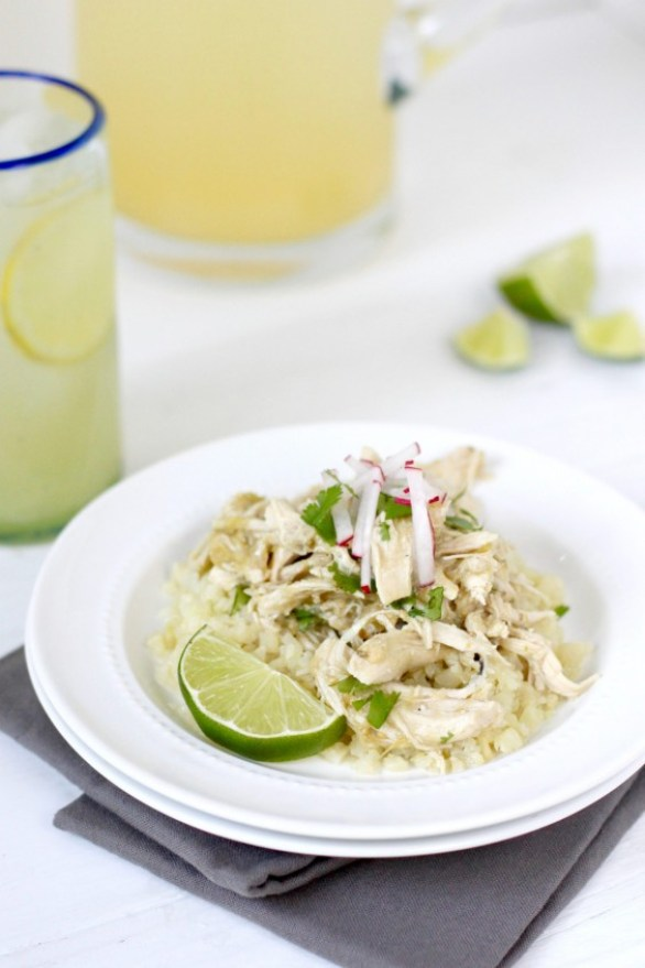 whole30: Chicken Chile Verde