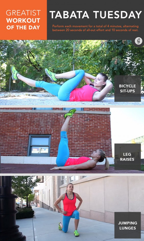 Greatist Workout of the Day: Tuesday, June 30th