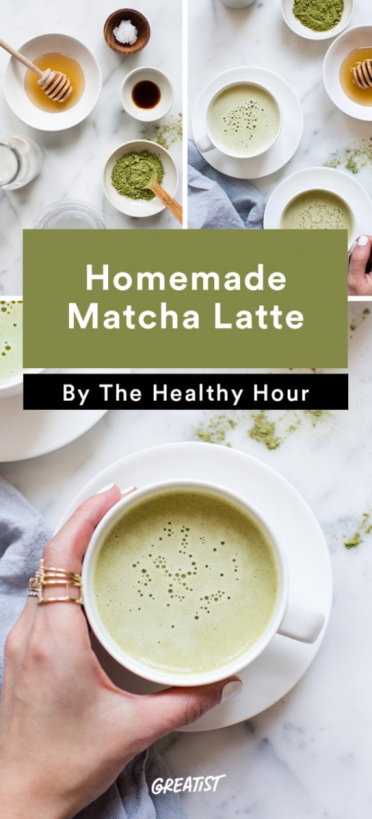 the healthy hour: Matcha