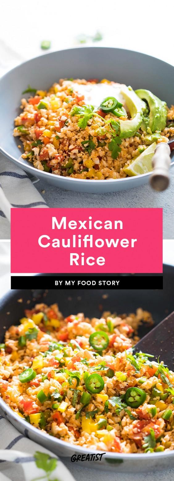 Mexican Cauliflower Rice Recipe
