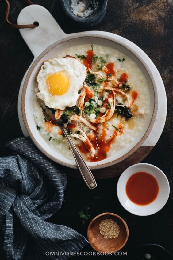 Instant Pot Congee Recipe